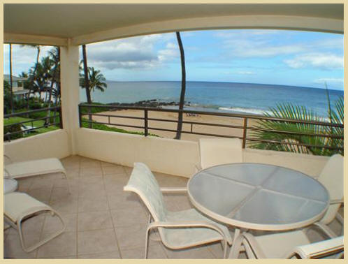Polo Beach Club #204 Lanai View